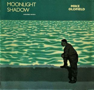 "Mike Oldfield ‎- Moonlight Shadow (12"") (VG-EX/VG-)"